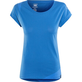 La Sportiva Chimney T-shirt Dame marine blue/cobalt blue